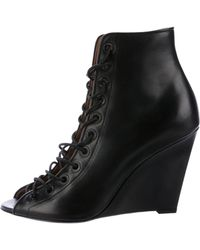 Givenchy - Bondage Wedge Booties W/ Tags - Lyst