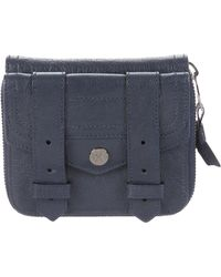 Proenza Schouler - Ps1 Leather Wallet Navy - Lyst