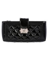 Chanel - Quilted Boy O-phone Holder Black - Lyst