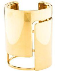 Lanvin - Oracle Bracelet Gold - Lyst