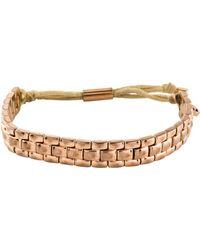 Michael Kors - Watch Link Bracelet Rose - Lyst