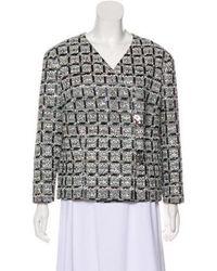 Chanel - 2016 Lesage Tweed Jacket W/ Tags Black - Lyst