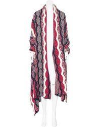 Chanel - Paris-dallas Wool Cashmere Blanket Shawl Multicolor - Lyst