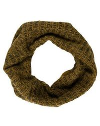 Alexander Wang - Patterned Knit Infinity Scarf - Lyst