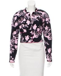 Chanel - Printed Terry Cloth Jacket - Lyst