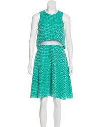 Prabal Gurung - Sleeveless Midi Dress - Lyst