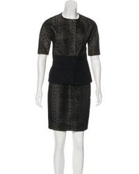 Giambattista Valli - Eyelet Skirt Suit - Lyst