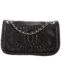 Chanel - Small On The Bund Flap Bag Black - Lyst