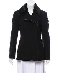 Kors by Michael Kors - Kors By Michael Wool-blend Zip-up Coat - Lyst