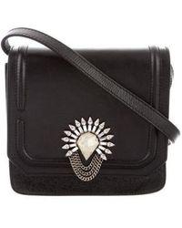 DANNIJO - Lypton Embellished Crossbody Bag Black - Lyst