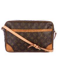 f8455098fdda Lyst - Louis Vuitton Trocadero 30 Shoulder Crossbodybag M51272 ...