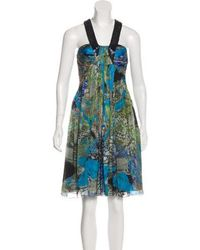 Matthew Williamson - Printed Knee-length Dress - Lyst