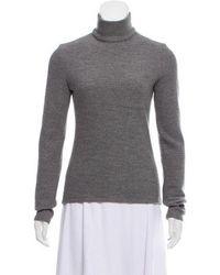Martin Grant - Wool Long Sleeve Top Grey - Lyst