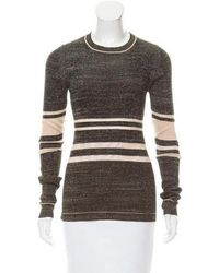 Creatures of the Wind - Striped Silk Sweater - Lyst