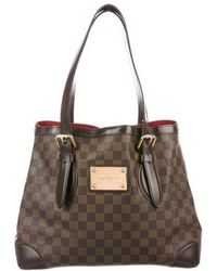 Louis Vuitton - Damier Ebene Hampstead Gm - Lyst