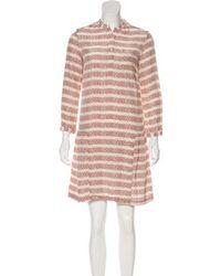 Steven Alan - Printed Silk Dress Multicolor - Lyst