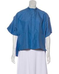 Ports 1961 - Short Sleeve Button-up Top - Lyst