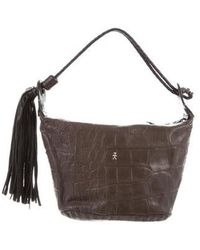 Henry Beguelin - Embossed Leather Handle Bag - Lyst