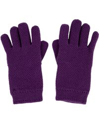 Loro Piana - Knit Cashmere Gloves - Lyst