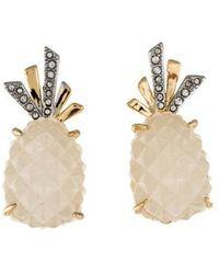 Alexis Bittar - Pineapple Clip-on Earrings Gold - Lyst