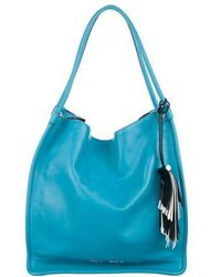 Proenza Schouler - Medium Leather Tote Turquoise - Lyst