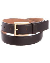 Michael Kors - Leather Waist Belt Brown - Lyst