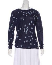 Banjo & Matilda - Patterned Long Sleeve Sweater - Lyst