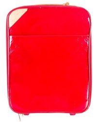 Louis Vuitton - Vernis Pegase 45 Red - Lyst