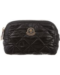 Moncler - Quilted Cosmetic Bag - Lyst