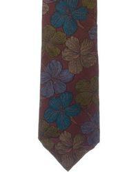Givenchy - Vintage Silk Floral Print Tie Multicolor - Lyst