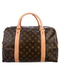 Louis Vuitton - Monogram Carryall Bag Brown - Lyst