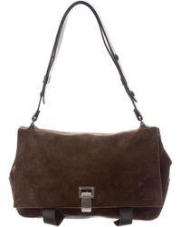 Proenza Schouler - Courier Shoulder Bag Brown - Lyst