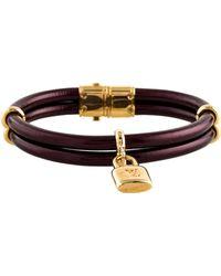 Louis Vuitton - Keep It Twice Bangle Gold - Lyst