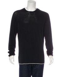 Haider Ackermann - Fleece Wool Sweater - Lyst