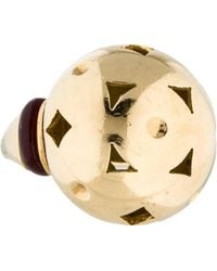 bvlgari dome cut out ring yellow lyst