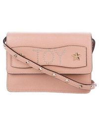 RED Valentino - Leather Crossbody Bag Pink - Lyst