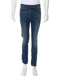 Alexander Wang - Woven Skinny Jeans - Lyst