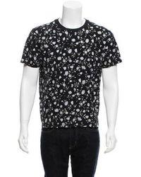 Sandro - Floral Print Short Sleeve T-shirt - Lyst