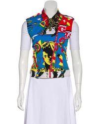 Dior - Rasta Moto Vest Multicolor - Lyst