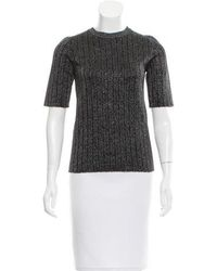 SUNO - Wool Top W/ Tags Black - Lyst