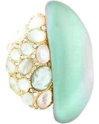 Alexis Bittar - Lucite Ring Gold - Lyst