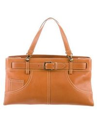 Dior - Patch Pocket Tote Brass - Lyst