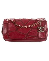 85d61297cf91 Lyst - Chanel Wallet On Chain Leather Handbag in Metallic