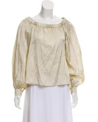 Creatures of Comfort - Long Sleeve Blouse - Lyst