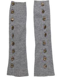 Marc Jacobs - Wool-blend Fingerless Gloves Grey - Lyst