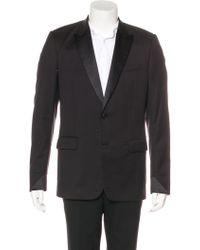 Dior Homme - Wool Tuxedo Blazer - Lyst