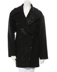 Stella McCartney - Zip-trimmed Wool Coat W/ Tags - Lyst
