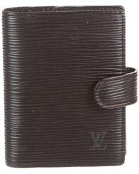 Louis Vuitton - Epi Card Case - Lyst