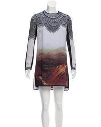 Clover Canyon - Printed Mini Dress - Lyst