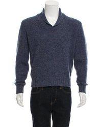9662c257ce59 Lyst - Loro Piana Cashmere V-neck Sweater in Purple for Men